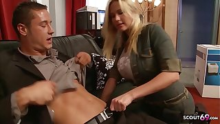 Big Bouncing Tits Nympho Craftswoman Butter up less Fuck at Work
