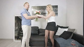 Hot Milf Cheat Husband with his give someone a once-over friend