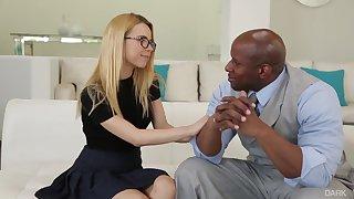 Mr Roberts Favorite Student Alina West - Interracial Sex