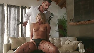 Denude Candice Dare feels amazing presently fucking so fixed